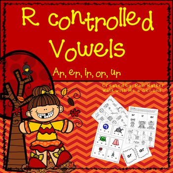 Bossy R Controlled Vowel Activities