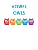 Vowels Recognition Activity Worksheets