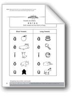 Vowels: Recognizing Long & Short Vowel Sounds