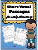 Short Vowel Reading Passages for Emergent Readers