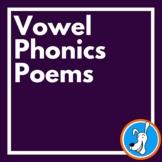 Vowel Phonics Poems