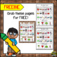 Vowels (Single Vowels Page from our product Student Word Wall Writing Set)