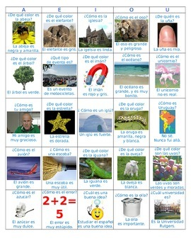 Vowels, Vocab & Short Sentences