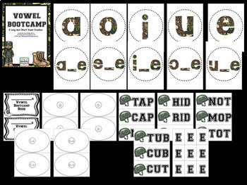 Vowel Bootcamp! A Short And Long Vowel Creation!