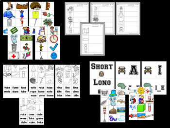 Vowel Bootcamp Safari Edition!  A Short And Long Vowels Creation!