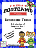 Vowel Bootcamp Superhero Theme: A Short And Long Vowel Creation!