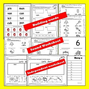 Vowel, Vowels, Long Vowels, Silent E Guided Reading Book 1 Long Vowel
