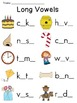 Vowel Sounds Worksheets Pack