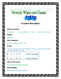 Vowels Wipe Out Game