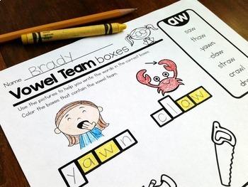 Vowels & Word Families {BUNDLE}
