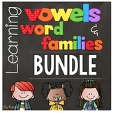 Vowels & Word Families {BUNDLE}