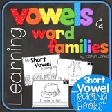 Vowels & Word Families {Short Vowel Tracing Book}