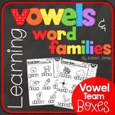 Vowels & Word Families {Vowel Team Boxes}