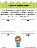 Vowels Word Hunt