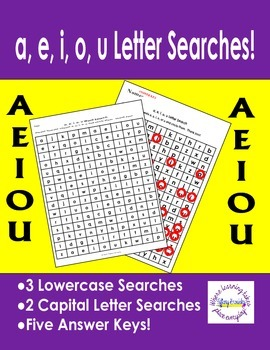 Vowels Letter Searches