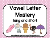 Vowels in Kindergarten