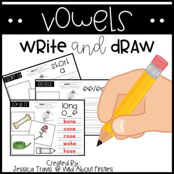 Vowels * Write & Draw