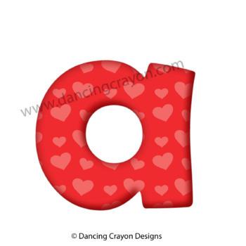 Vowels and Consonants: Alphabet Letters Clip Art for Teachers