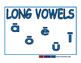 Vowels blue