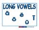 Vowels blue