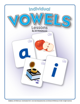 Vowels by Jill Whitehouse