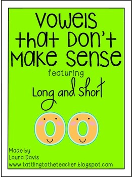 Vowels that Don't Make Sense: Long and Short OO
