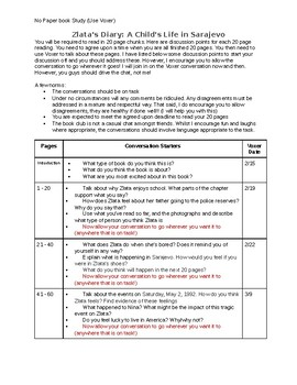 Zlatas Diary Worksheets & Teaching Resources | Teachers Pay ...