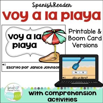 Voy a la playa ~ Spanish Beach Simple Reader for Summer/Verano {en español}