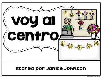 Voy al centro ~ Spanish Places in Town Reader plus BOOM™ Version with Audio