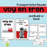 Voy en Tren Spanish Transportation Reader & Build-A-Book