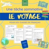 Voyage - Tâche sommative