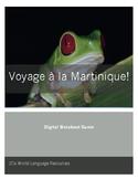 Voyage à la Martinique!