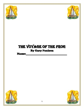 """Voyage of the Frog"" novel unit"