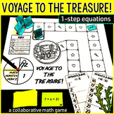 Voyage to the Treasure! 1-Step Equations
