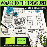 Voyage to the Treasure! 2-Step Equations