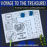 Voyage to the Treasure! Dividing Fractions and Mixed Numbers