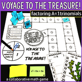 Voyage to the Treasure! Factoring Quadratic Trinomials Game
