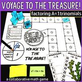Voyage to the Treasure! Factoring A=1 Quadratic Trinomials