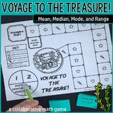 Voyage to the Treasure! Mean, Median, Mode, and Range