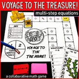 Voyage to the Treasure! Multi-Step Equations