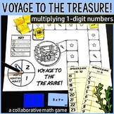 Voyage to the Treasure! Multiplication Within 100