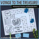 Voyage to the Treasure! Multiplying Fractions and Mixed Numbers
