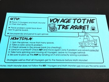 Voyage to the Treasure! Multiplying Polynomials Game