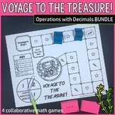 Voyage to the Treasure! Operations with Decimals Bundle