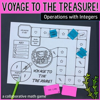 Voyage to the Treasure! Operations with Integers