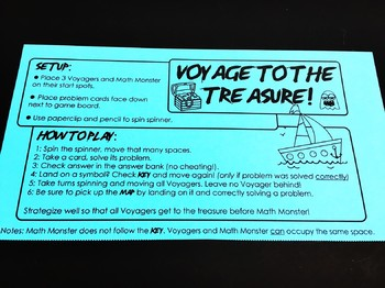 Voyage to the Treasure! Pythagorean Theorem Game