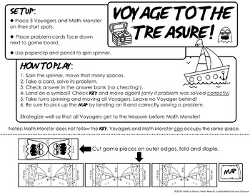 Voyage to the Treasure! Solving Proportions