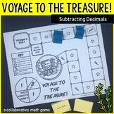 Voyage to the Treasure! Subtracting Decimals