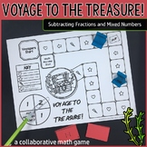 Voyage to the Treasure! Subtracting Fractions and Mixed Numbers