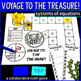Voyage to the Treasure! Systems of Linear Equations Game